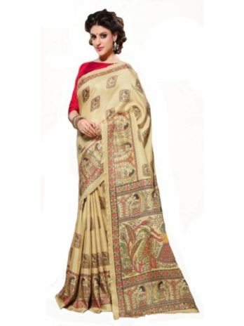 Manipuri Silk Printed Saree