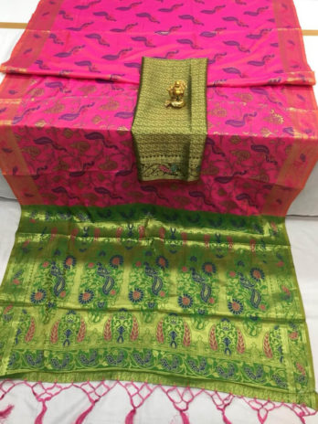 Banaras Silk Saree with Patoda