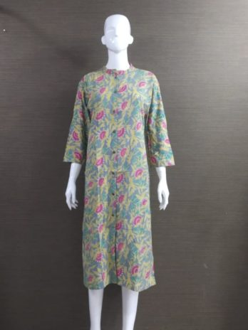Cotton Fabric With Print Kurti