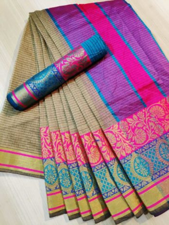 Kolkata Cotton Silk Saree