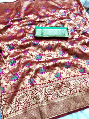 Pure Paithani Silk Saree